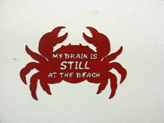 Crabby Sign
